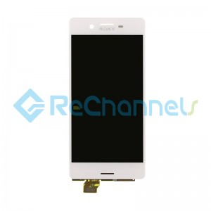 For Sony Xperia X LCD Screen and Digitizer Assembly Replacement - White - Grade S