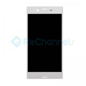 For Sony Xperia XZs LCD Screen and Digitizer Assembly Replacement - White - Grade S+