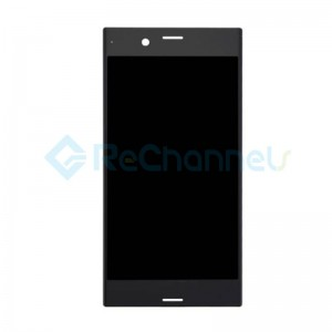 For Sony Xperia XZs LCD Screen and Digitizer Assembly Replacement - Black - Grade S+