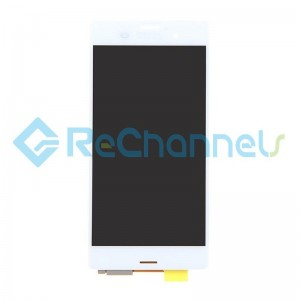 For Sony Xperia Z3 LCD Screen and Digitizer Assembly Replacement - White - Grade S