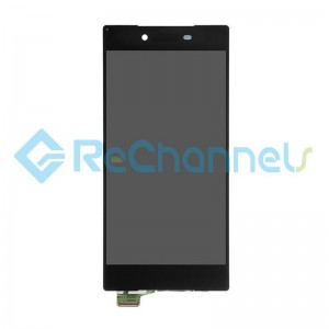 For Sony Xperia Z5 Premium LCD Screen and Digitizer Assembly Replacement - Black - Grade S