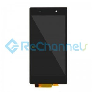 For Sony Xperia Z1 LCD Screen and Digitizer Assembly Replacement - Black - Grade S