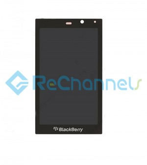 For Blackberry Z10 LCD Screen and Digitizer Assembly Replacement - Black - Grade S