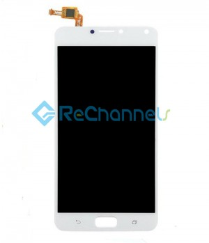 For Asus Zenfone 4 Max XL(ZC554KL) LCD Screen and Digitizer Assembly Replacement - White - Grade S