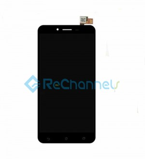 For Asus Zenfone 3 Max(ZC553KL) LCD Screen and Digitizer Assembly Replacement - Black - Grade S