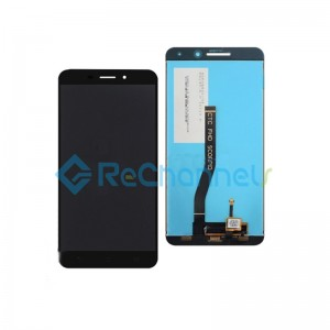 For Asus Zenfone 3 Laser Z01bd LCD Screen and Digitizer Assembly Replacement - Black - Grade S